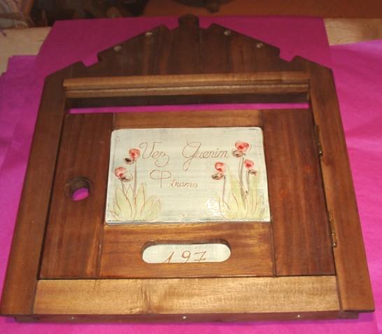 Une porte de boite aux lettres originale - Boite a lettre originale ...